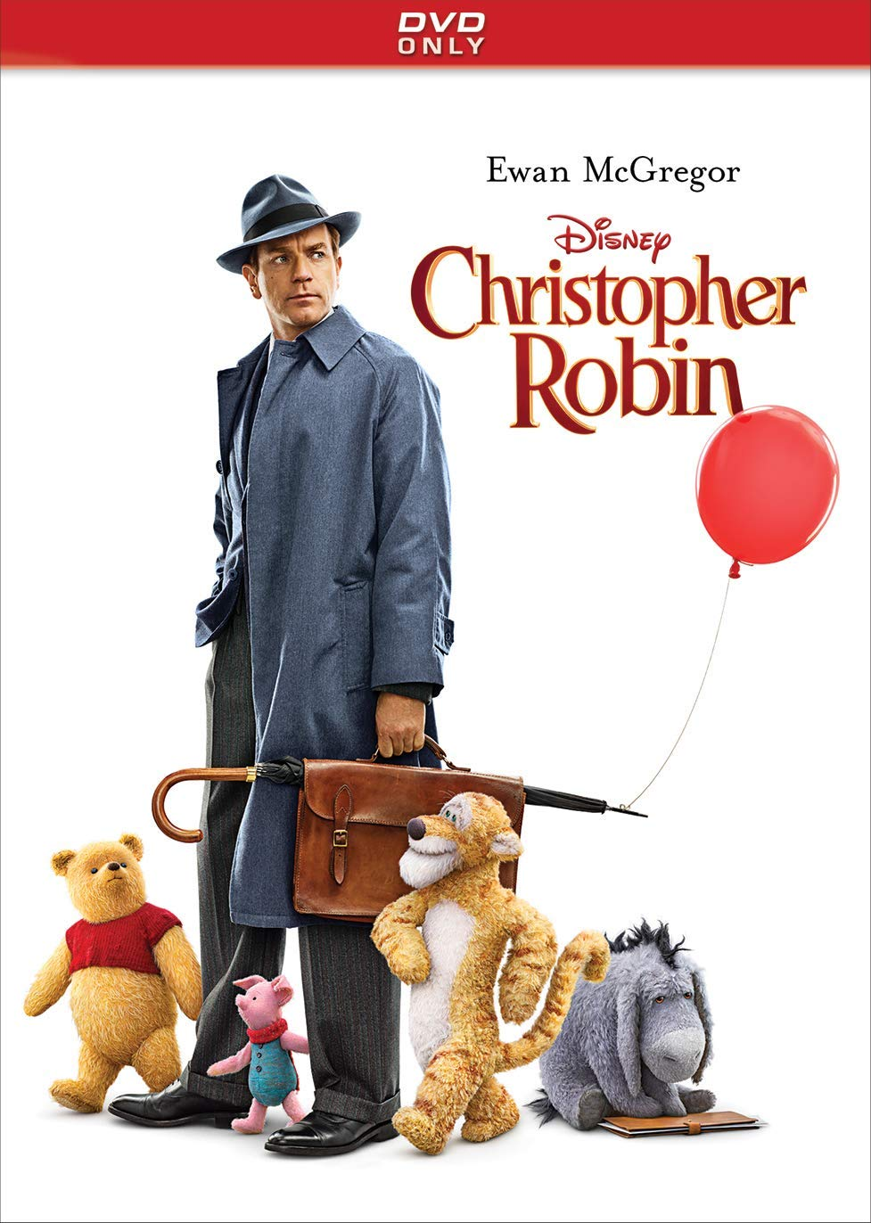 Christopher Robin Blu Ray   DVD   Digital Region Free