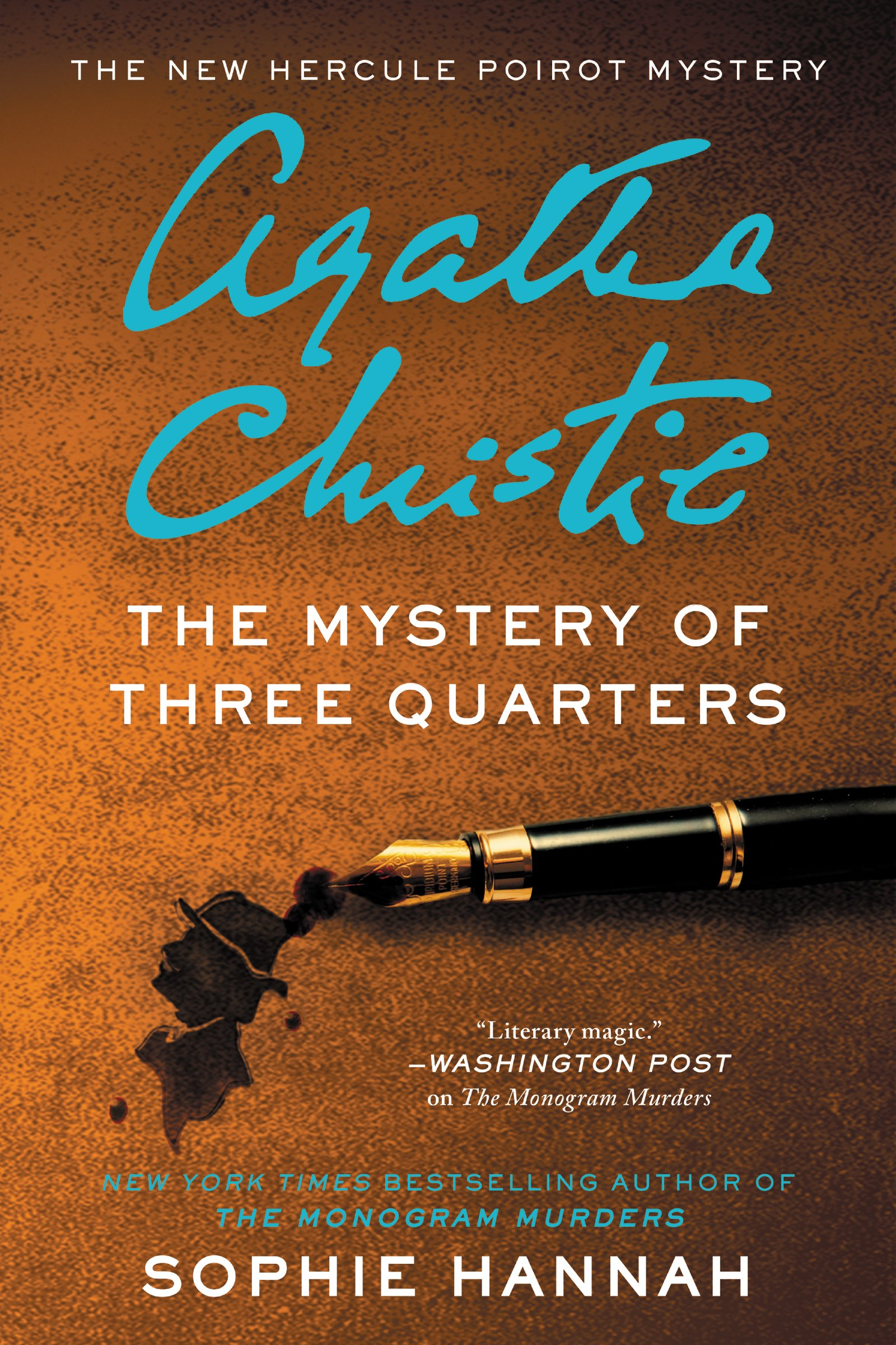 Book Cover: The Mystery of Three Quarters CD: The New Hercule Poirot Mystery