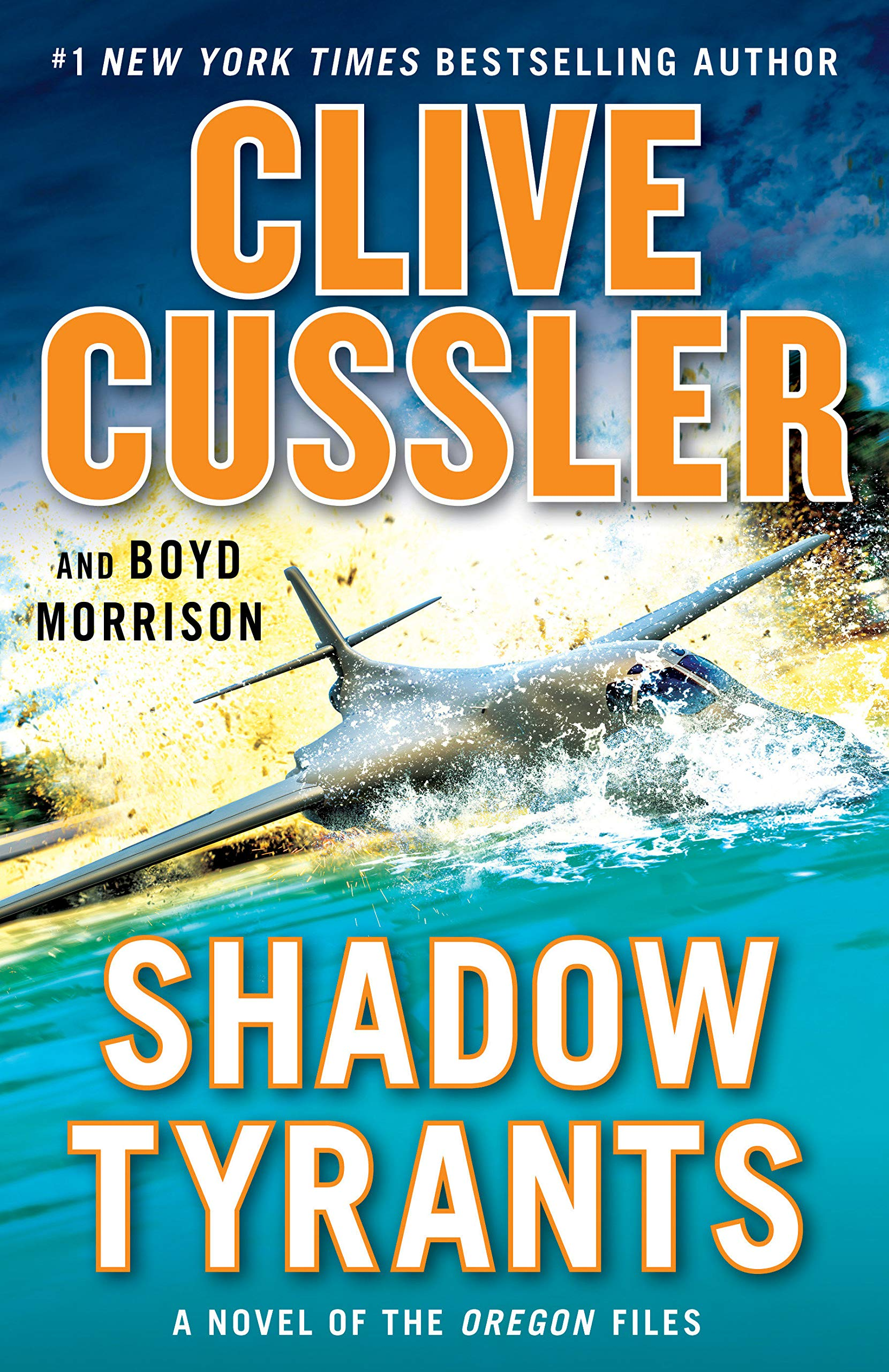 Book Cover: Shadow Tyrants: Clive Cussler