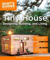 Book Cover: Idiot's Guides: Tiny House Designing, Building, & Living