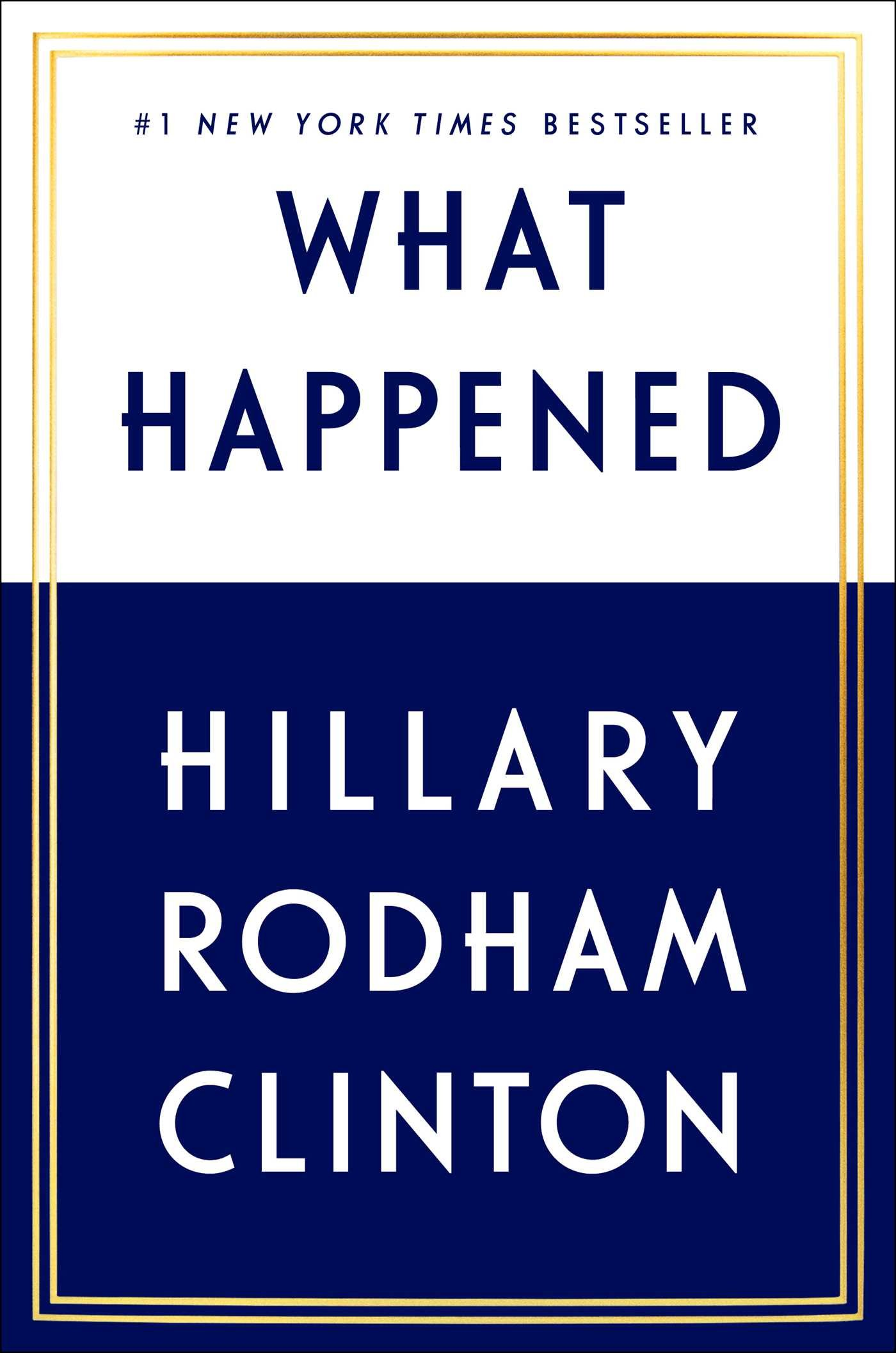 Book Cover: What Happened